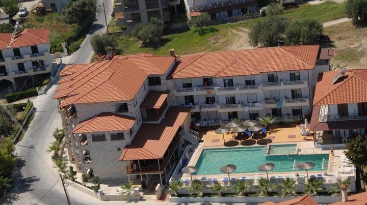 Medusa Aparthotel in Kriopigi, Halkidiki, Greece