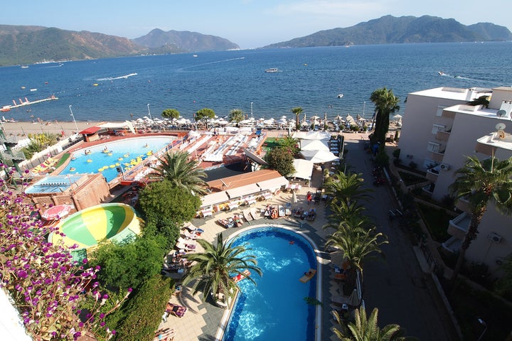 Romance Beach Hotel in Marmaris, Dalaman, Turkey