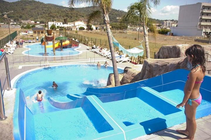 Europa Splash Hotel in Malgrat de Mar, Costa Brava, Spain