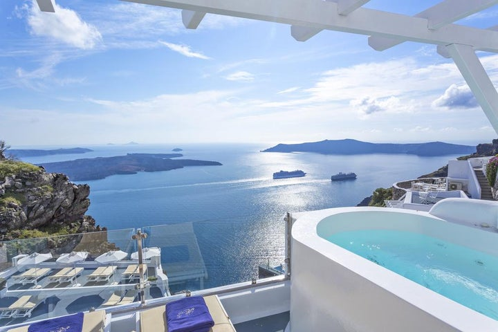 Pegasus Suites & Spa in Imerovigli, Santorini, Greek Islands