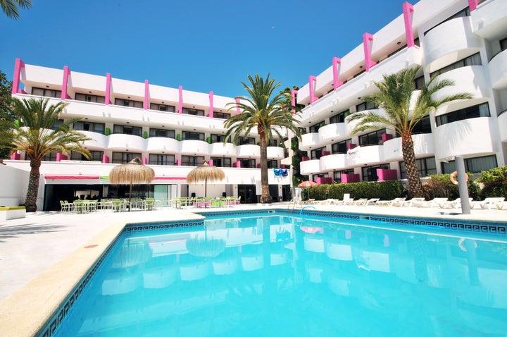 Lively Mallorca in Palma Nova, Majorca, Balearic Islands