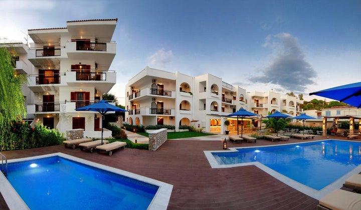 Korali Hotel Troulos in Troulos, Skiathos, Greek Islands