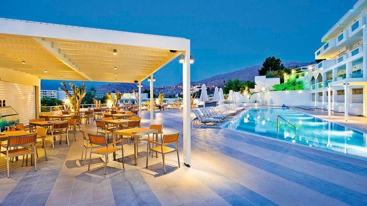 Lindos White Hotel & Suites in Lindos, Rhodes, Greek Islands