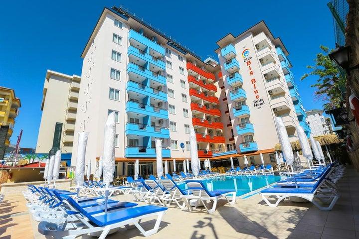 Club Big Blue in Alanya, Antalya, Turkey