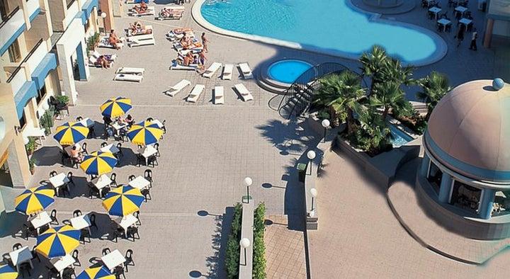 The St. George's Park Hotel in St Julian's, Malta