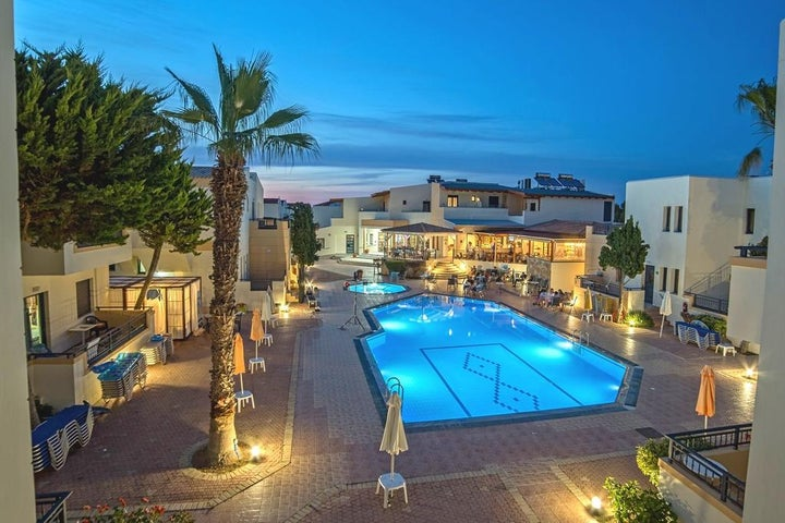 Blue Aegean Hotel and Suites in Gouves, Crete, Greek Islands