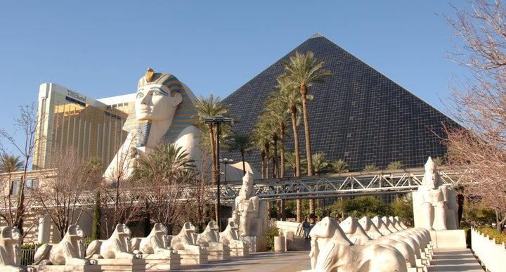 Luxor Hotel And In Las Vegas Nevada Usa