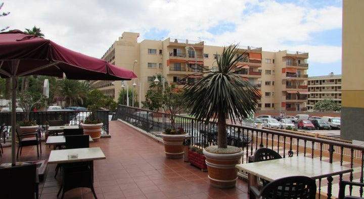 Andrea's Hotel in Los Cristianos, Tenerife, Canary Islands
