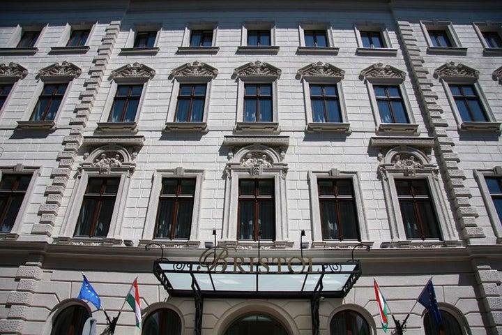 Bristol Hotel in Budapest, Hungary