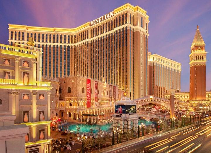 The Venetian Resort Hotel Casino in Las Vegas, Nevada, USA