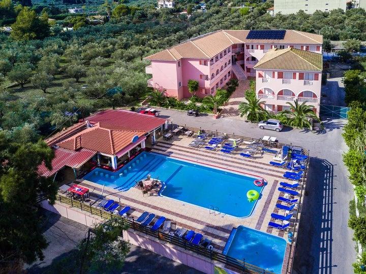 Savvas De Mar Hotel in Laganas, Zante, Greek Islands