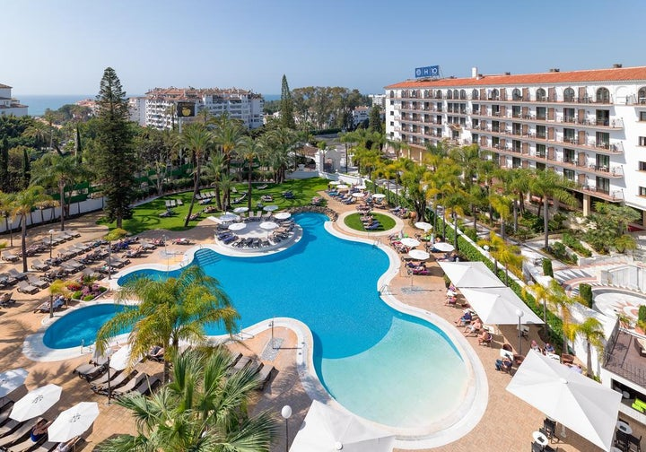 H10 Andalucia Plaza Hotel in Puerto Banus, Costa del Sol, Spain