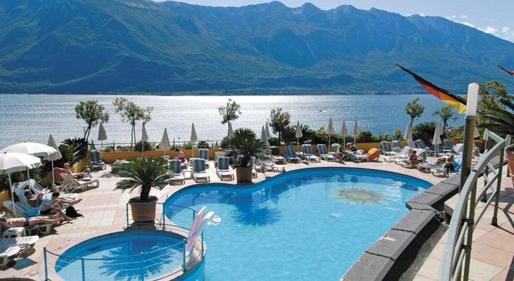 Cristina Hotel in Limone sul Garda, Lake Garda, Italy