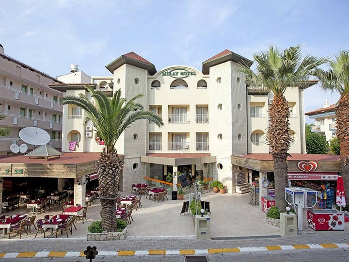 Miray Hotel in Icmeler, Dalaman, Turkey