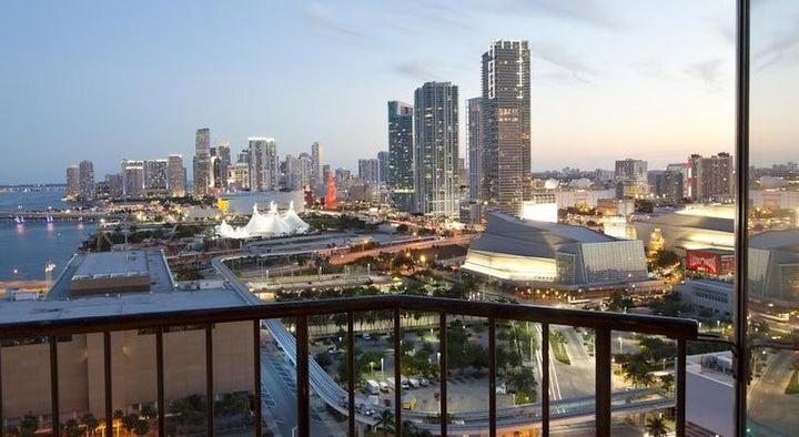 Miami Marriott Biscayne Bay in Miami, Florida, USA