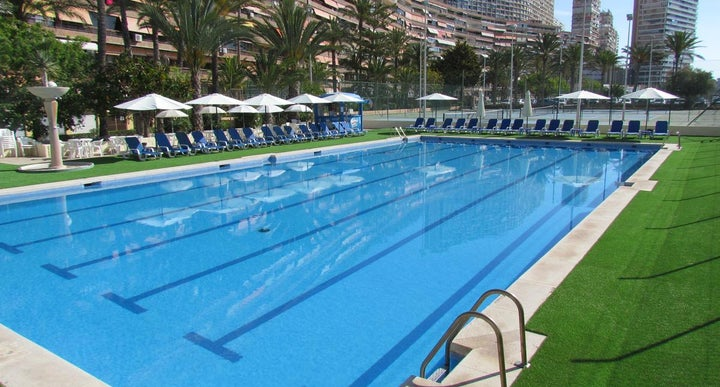 Hotel albahia alicante in alicante spain holidays from 135pp loveholidays for Swimming pool repairs costa blanca