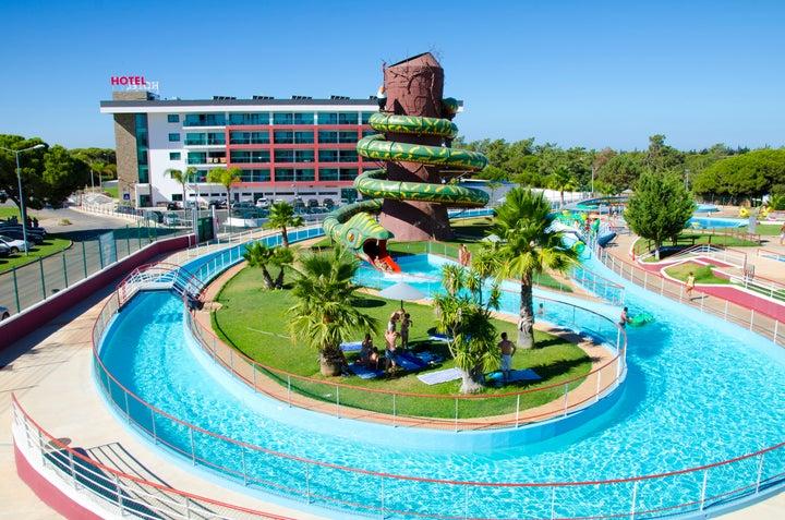 Aquashow Park Hotel in Quarteira, Algarve, Portugal