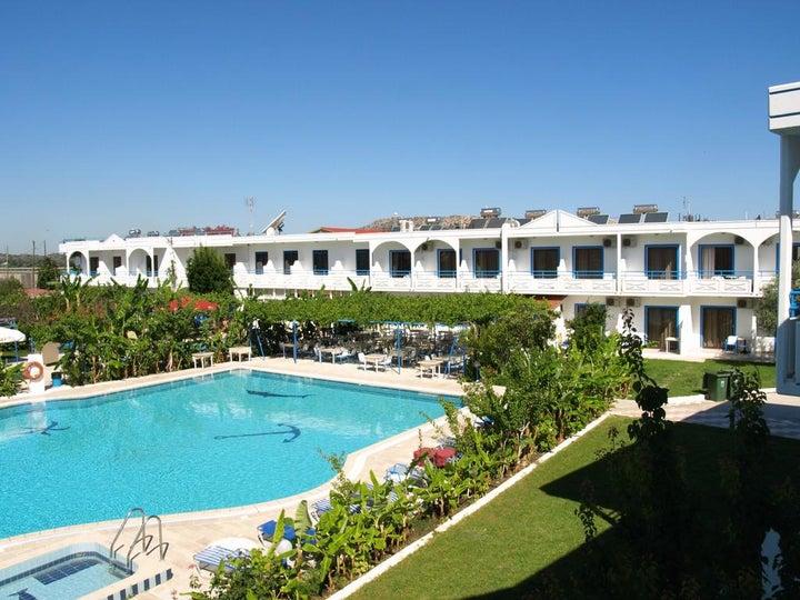 Garden Hotel in Pastida, Rhodes, Greek Islands