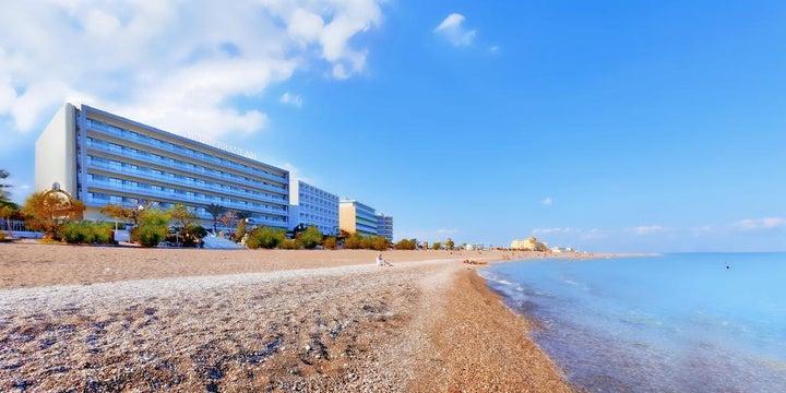 Mediterranean Hotel in Rhodes Town, Rhodes, Greek Islands