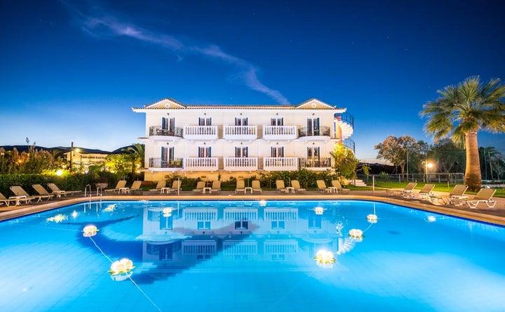 Ilios Hotel in Laganas, Zante, Greek Islands