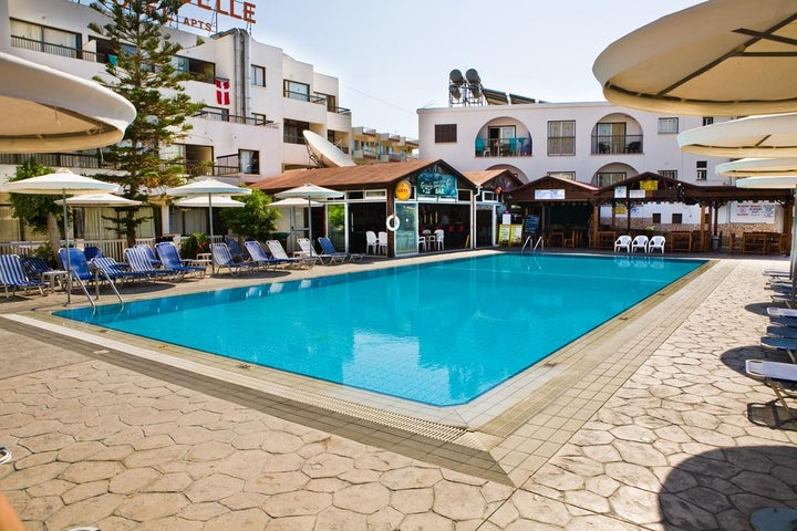 Christabelle Hotel Apartments Complex in Ayia Napa, Cyprus