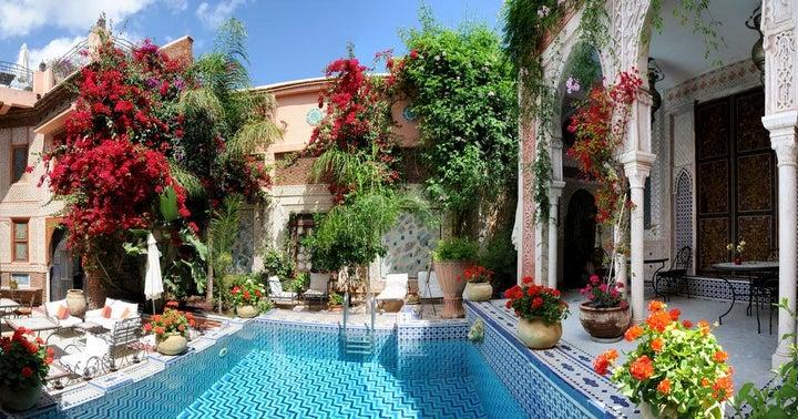 Palais Sebban in Marrakech, Morocco