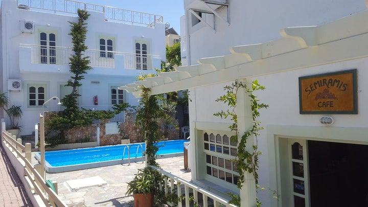 Semiramis Apartments in Hersonissos, Crete, Greek Islands