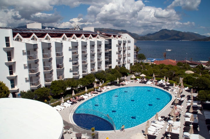 Luna Beach Deluxe Hotel in Marmaris, Dalaman, Turkey