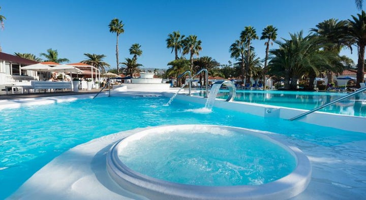 Suite Hotel Jardin Dorado in Maspalomas, Gran Canaria, Canary Islands