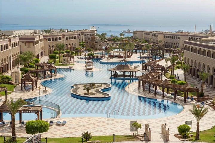 SENTIDO Mamlouk Palace Resort in Hurghada, Red Sea, Egypt