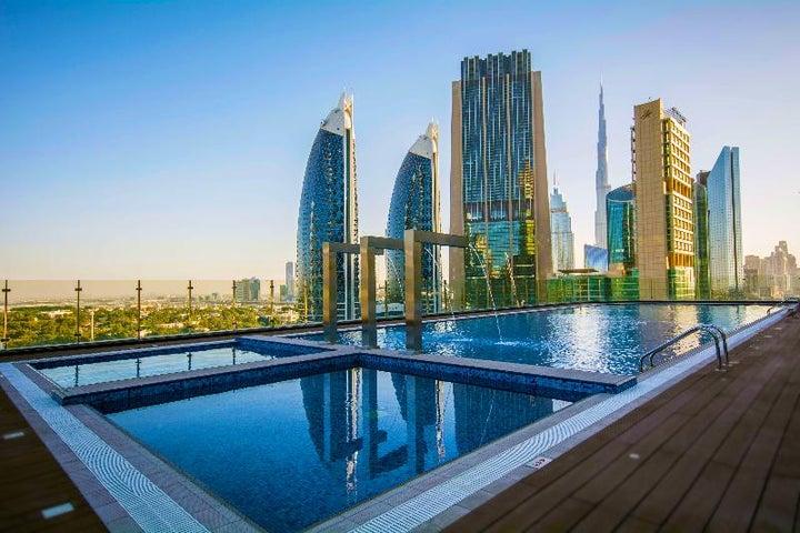 Gevora Hotel in Dubai City, Dubai, United Arab Emirates