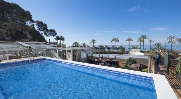 Rosamar & Spa Hotel in Lloret de Mar, Costa Brava, Spain
