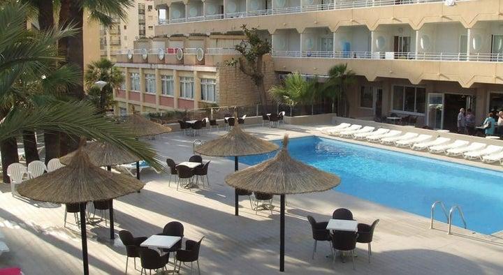 Mont Park Hotel in Benidorm, Costa Blanca, Spain