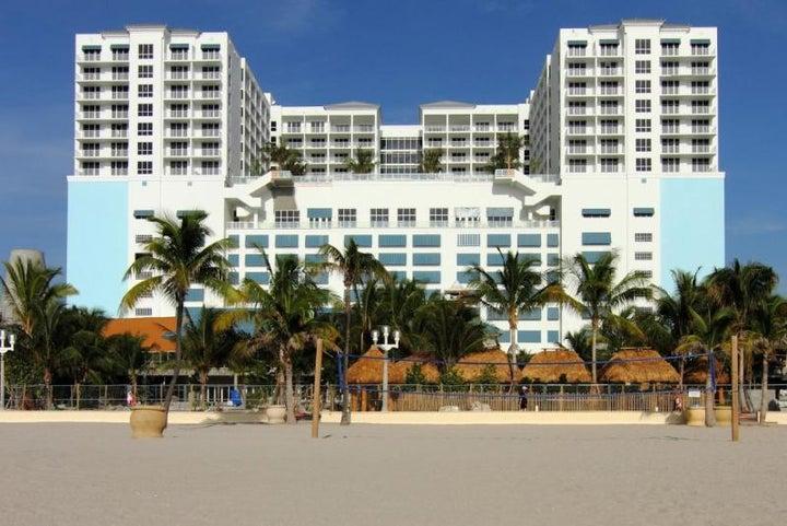 Margaritaville Hollywood Beach Resort in Fort Lauderdale, Florida, USA