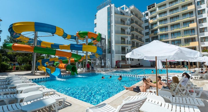 Best western plus premium inn in sunny beach bulgaria - Sunny beach pools ...