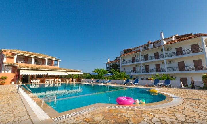 Bruskos Hotel in Aghios Georgios, Corfu, Greek Islands