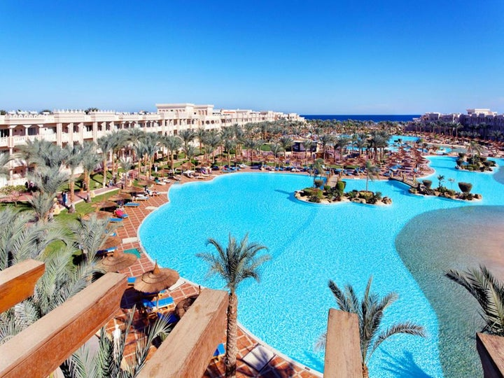 Albatros Palace in Hurghada, Red Sea, Egypt