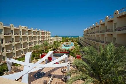 Hawaii Palm Resort & Aqua Park in Hurghada, Red Sea, Egypt