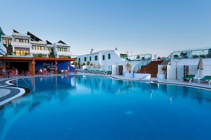 Blue Sea Los Fiscos Hotel in Puerto del Carmen, Lanzarote, Canary Islands