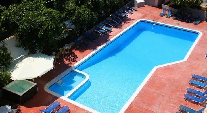 Porto Plazza Hotel in Hersonissos, Crete, Greek Islands