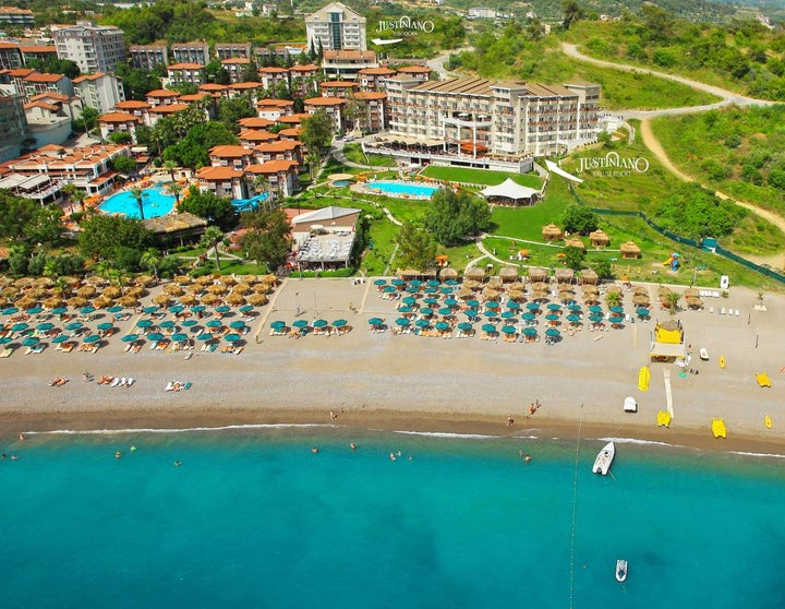 Justiniano Deluxe Resort in Alanya, Antalya, Turkey