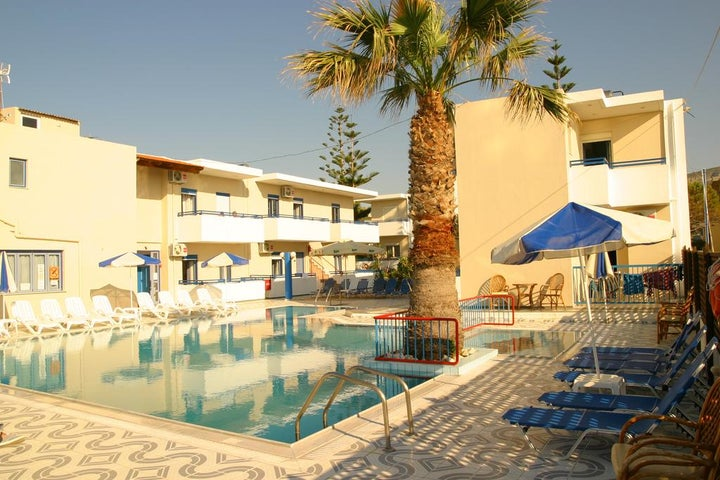 Villa Marie Kelly Hotel Apartments and Studios in Gouves, Crete, Greek Islands