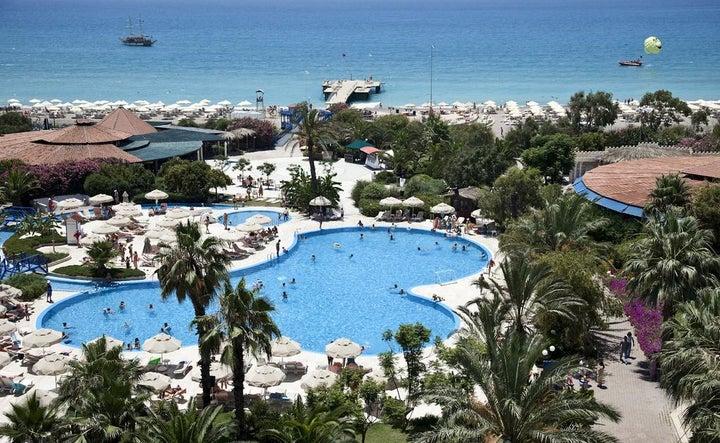 Sunrise Resort Hotel in Side, Antalya, Turkey