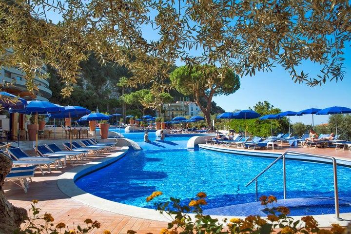 Hilton Sorrento Palace in Sorrento, Neapolitan Riviera, Italy