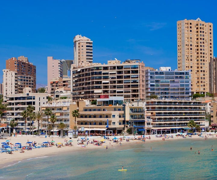 La Cala in Benidorm, Costa Blanca, Spain