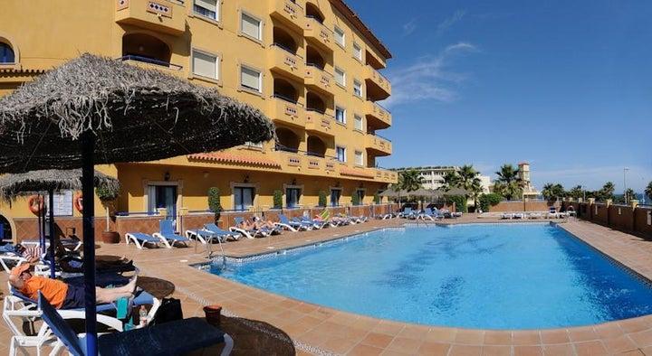 Vistamar Aparthotel in Benalmadena, Costa del Sol, Spain