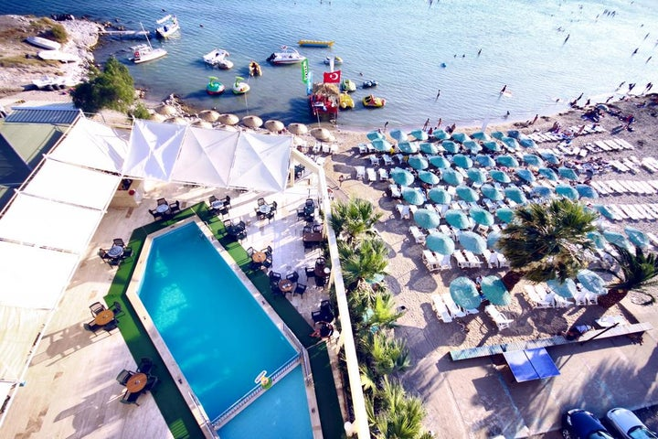 Tuntas Beach Hotel in Altinkum, Aegean Coast, Turkey