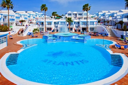 Atlantis Las Lomas Apartments in Puerto del Carmen, Lanzarote, Canary Islands