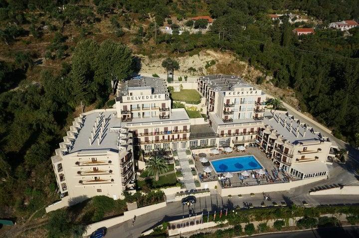 Belvedere Hotel Corfu in Benitses, Corfu, Greek Islands
