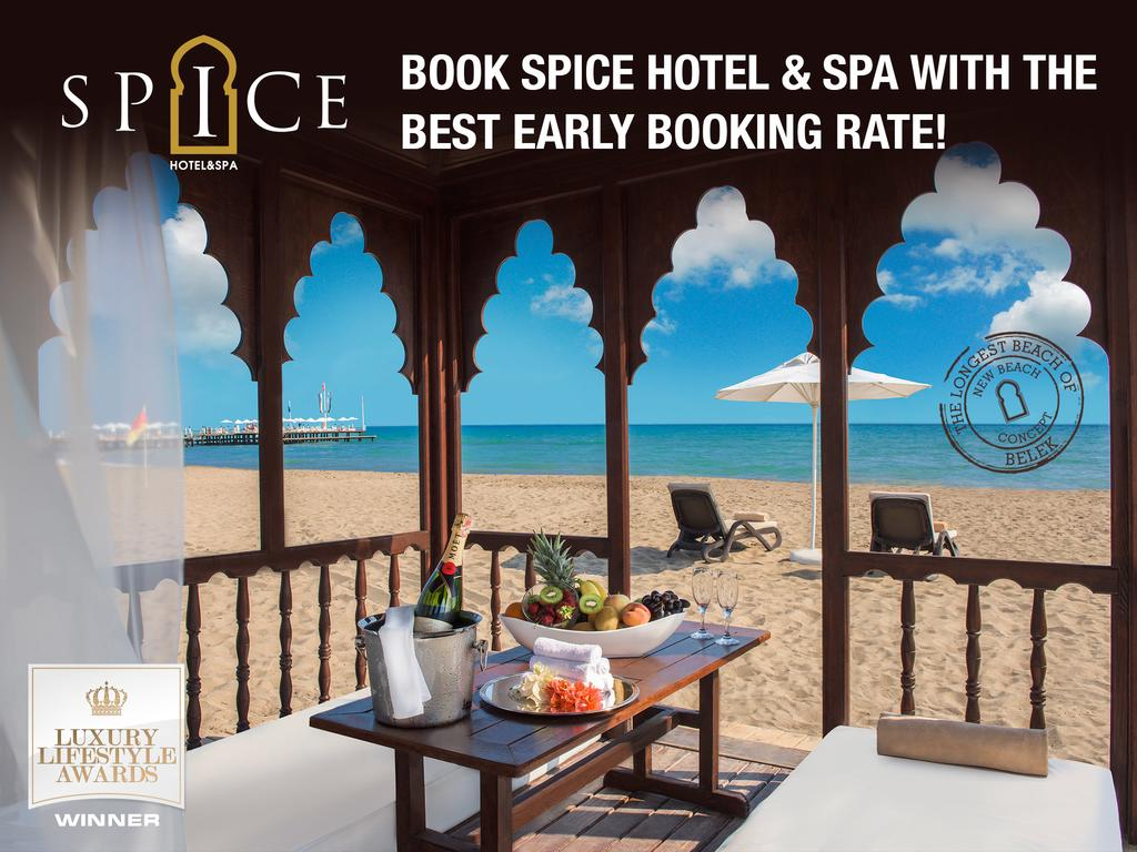 Spice Hotel & SPA in Belek, Turkey | Holidays from £325pp | loveholidays
